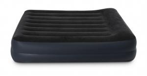 64122 Надувная кровать Pillow Rest Raised Bed 99х191х42см с подголовником, встроенный насос 220V