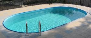 Сборный бассейн Summer Fun 4501010242KB овальный 600х320х120 см
