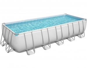 Каркасный прямоугольный бассейн Bestway Power Steel  5612B 640х274х132