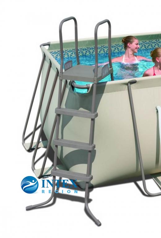 Лестница для бассейна Bestway 122 см 58191 с площадкой