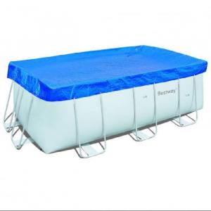 Тент-покрывало Bestway 58232 для прямоугольных каркасных бассейнов 412х201 см