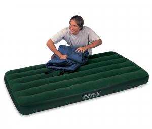 66927 Надувной матрас Downy Bed, 99х191х22см, со встроенным ножным насосом