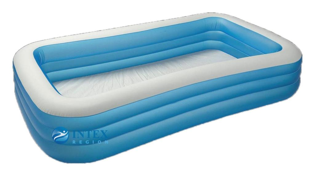 Бассейн Семейный голубой Intex арт.58484 305х183х56см, от 6 лет