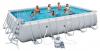 Каркасный бассейн Bestway 56471 671х366х132 Rectangular Power Steel Frame