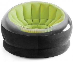 68581 Надувное кресло Empire Chair, 112х109х69см, зеленый цвет