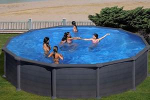 Круглый каркасный бассейн 550х132 см GRANADA GRE KITPR558GF
