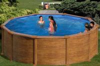Каркасный бассейн GRE PR458WOMAG круглый 460x132 см