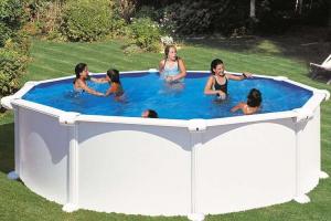 Каркасный бассейн GRE PR458MAG круглый 460х132 см