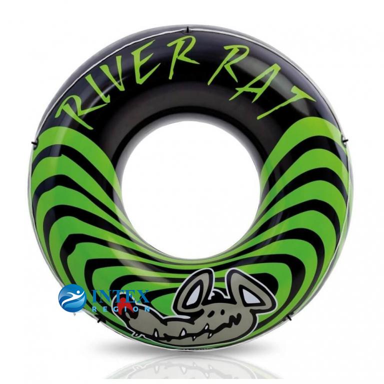 Надувной круг River Rat Intex арт.68209 122см, от 12 лет