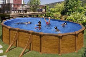 Каркасный бассейн GRE KITPR508WOMAG овальный 500x300x132 см
