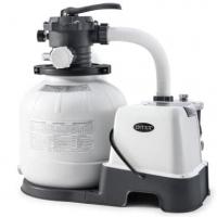 Песочный фильтр-насос 6000 л/ч  хлоргенератор Intex 26676