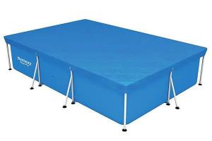 Тент-покрывало Bestway 58107 для прямоугольных каркасных бассейнов 400х211 см